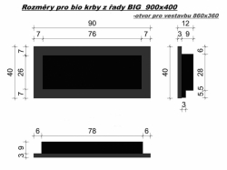 Bio krb Big Black mat
