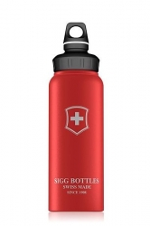 SIGG - Láhev WMB Swiss Emblem Red Touch 1 l